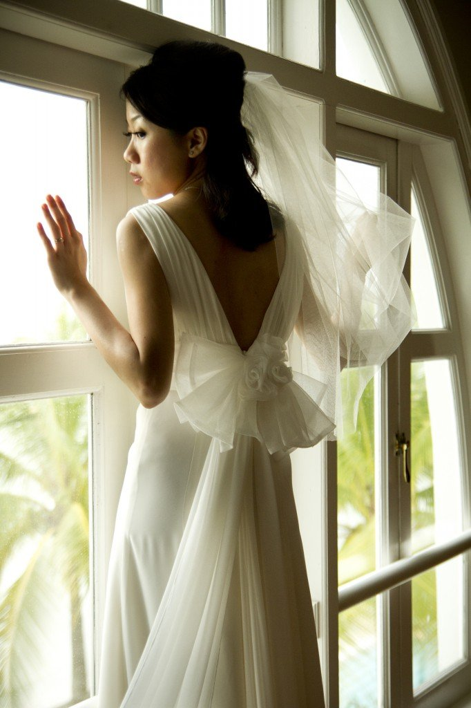 Valerie in Chiffon Wedding Dress