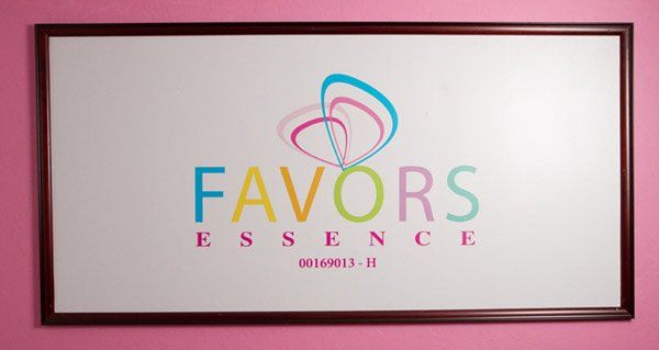 Favors Essence Signage