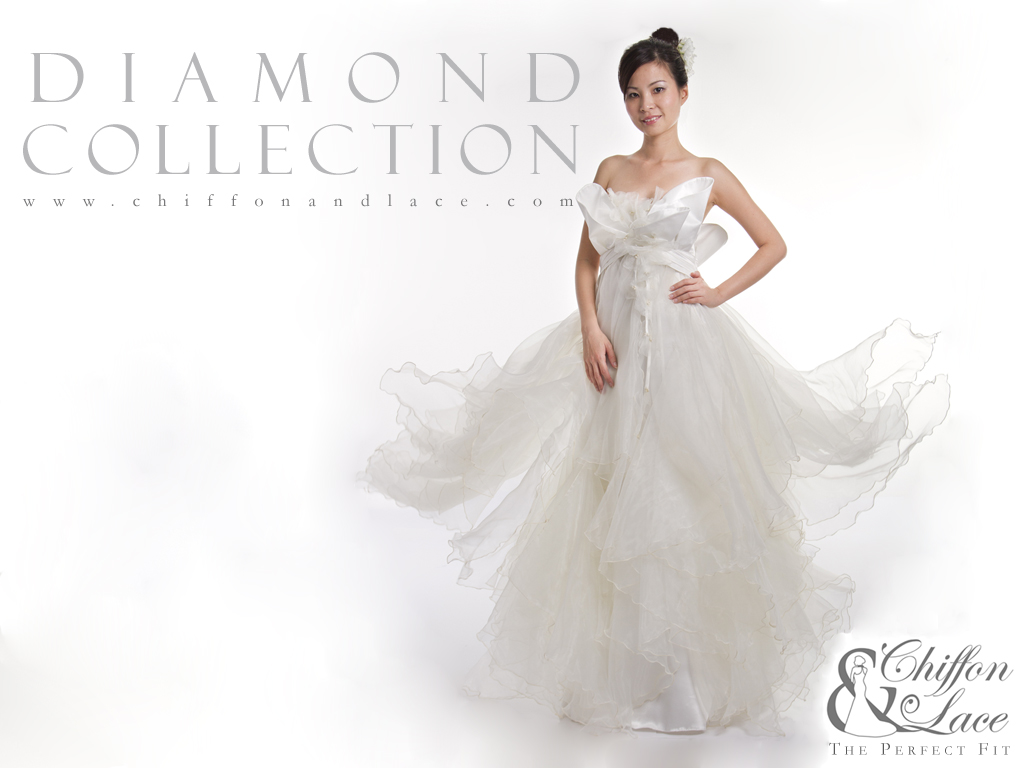 Chiffon & Lace New Wedding Dress Collection Promotion Brochure
